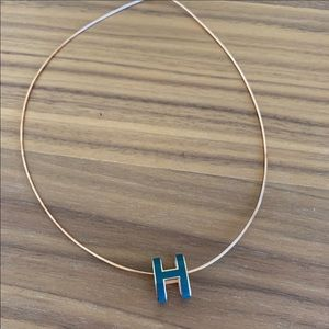 Hermès pop H necklace